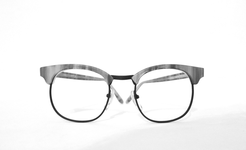 e133b1333 Clubman NOS Big VIntage 80s Clubmaster Eyeglass Frame New Wave | Etsy