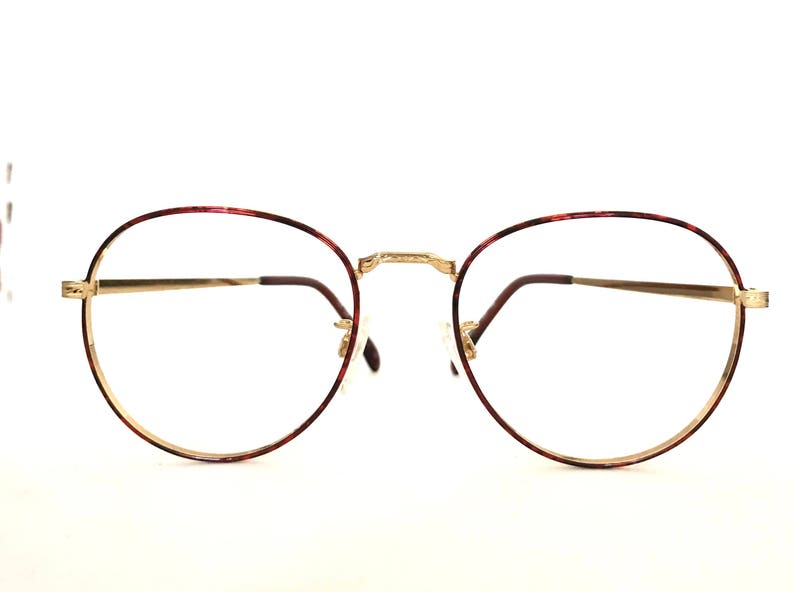 e6db0883c4c32 Big Round Lennon Eyeglass Frame NOS Designer Harry Potter