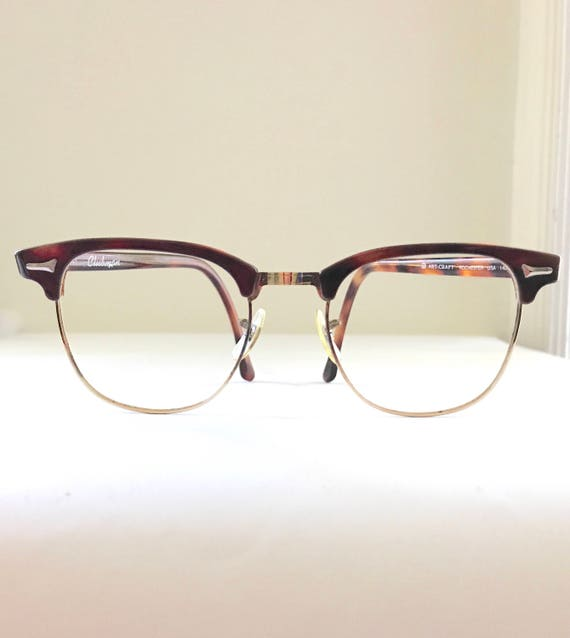 Big NOS Clubmaster Eyeglasses Huge Terrific Frame Tortoise | Etsy