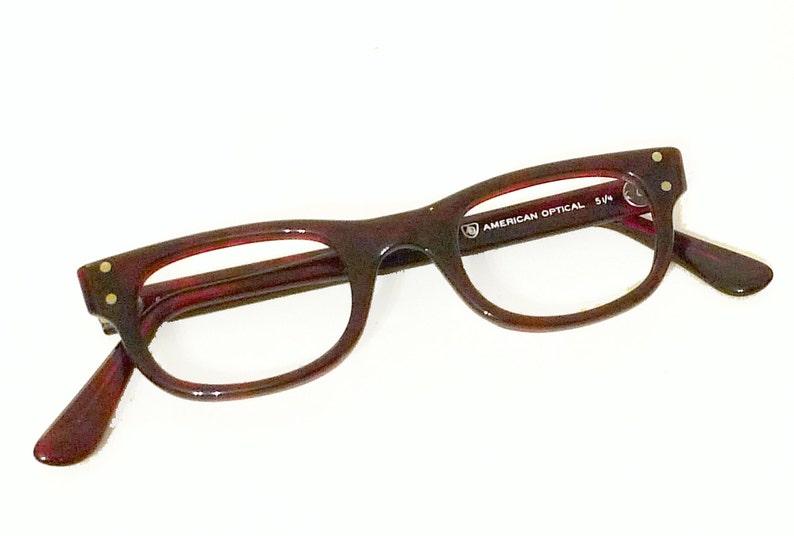 97d14caf02268 NOS American Optical Wayfarer SMALL Vintage Unused 60s Never