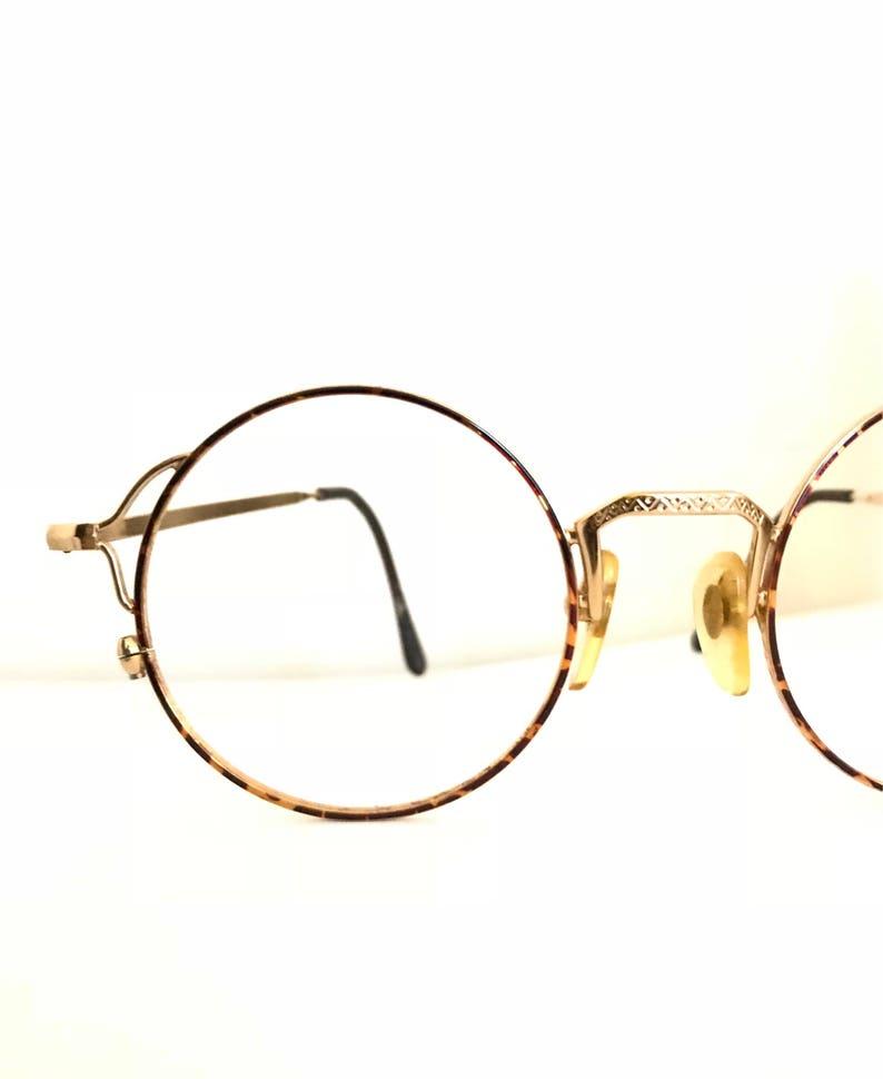 3603b74618b7 Big-ish Round Eyeglasses   Japan Influenced Lennon Glasses