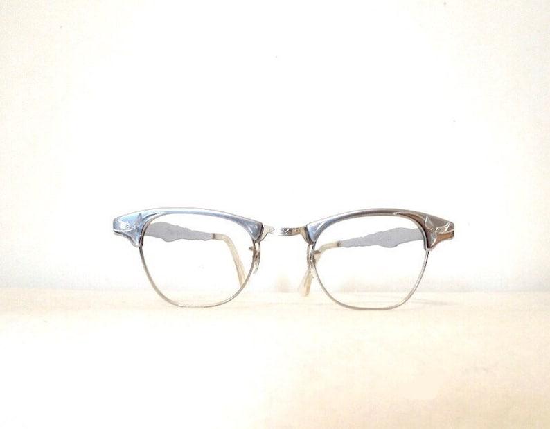 53200b587940e Bigger NOS Aluminum Cat Eye Frames Gold-Filled  Original
