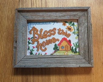 Bless This Home Cross Stitch