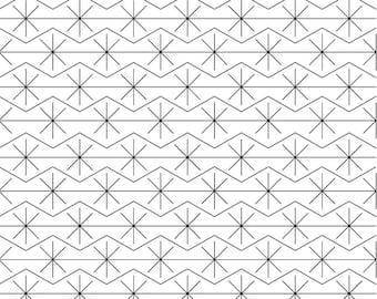 RAZZLE DAZZLE - READ description. Longarm Quilting Digital Edge to Edge Pantograph  Bernina Handiquilter Gammill Statler Stitcher Long Arm