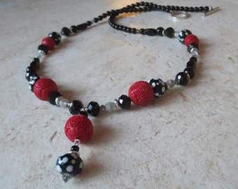 Strawberry Night Necklace