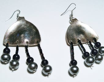 Jelly Fish Earrings! Hand Crafted.