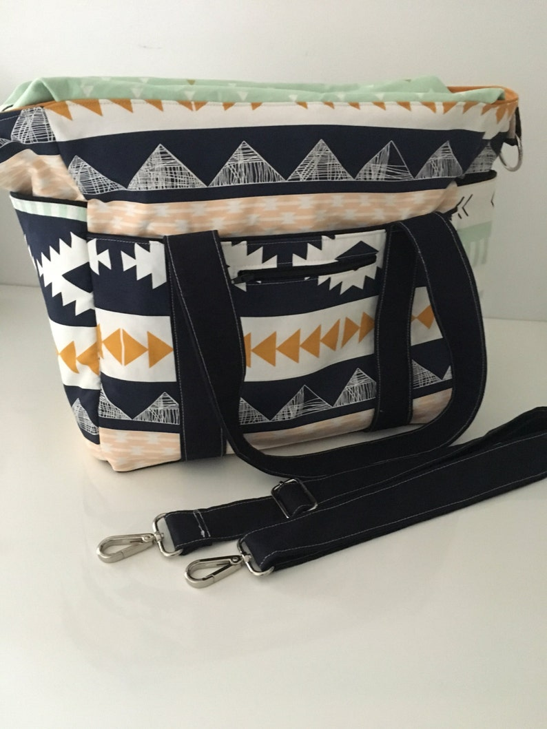 Art Gallery Arizona Nappy Bag with Zipper and Long Strap with image 0