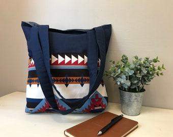 Southwest Print Tote Bag
