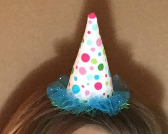 Mini party hat - birthday