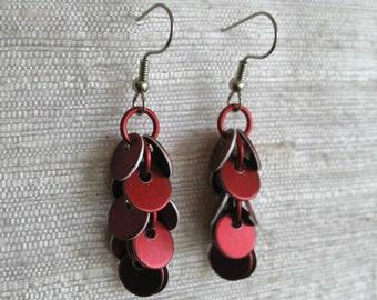 Short Confetti Dangle Earrings