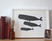 Original Papercut Whales