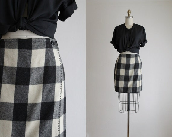 4f3fcf626f9 buffalo plaid mini skirt
