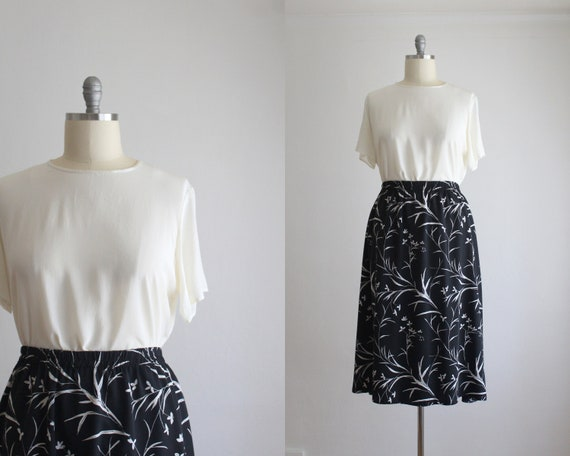 beaded silk blouse