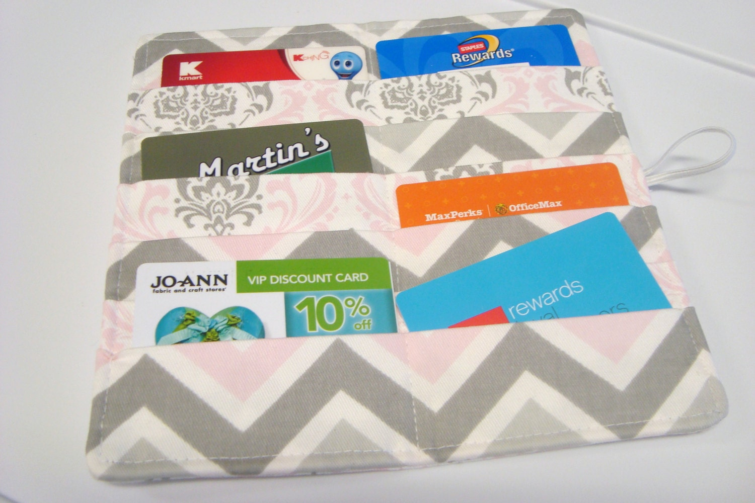 12 38 Slot Card Loyalty Card Organizer Business Card Holder Etsy