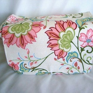Attaches to Your Shopping Cart Coupon Organizer Budget Organizer Holder Happy Flowers