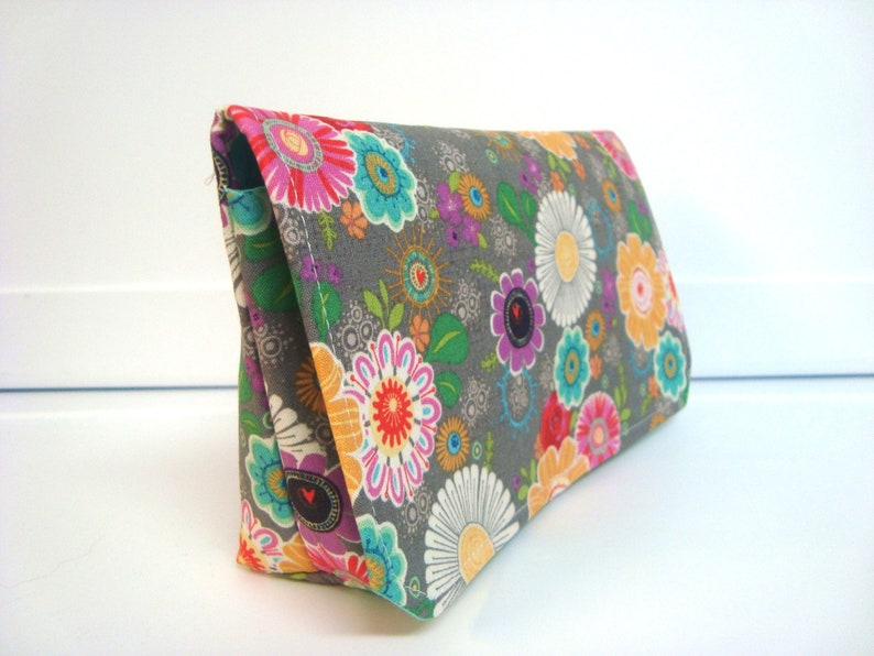 Coupon Organizer Budget Organizer Coupon Holder Coupon Wallet   Attaches To You Shopping Cart Picking WildFlowers  2 READY TO SHIP