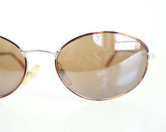 9a01fa593dc 1980s Tortoiseshell Wire Rim Glasses - Vintage Oval Wire Frame Sunglasses -  Vintage womens Sunglasses - Retro Oval Sunnies
