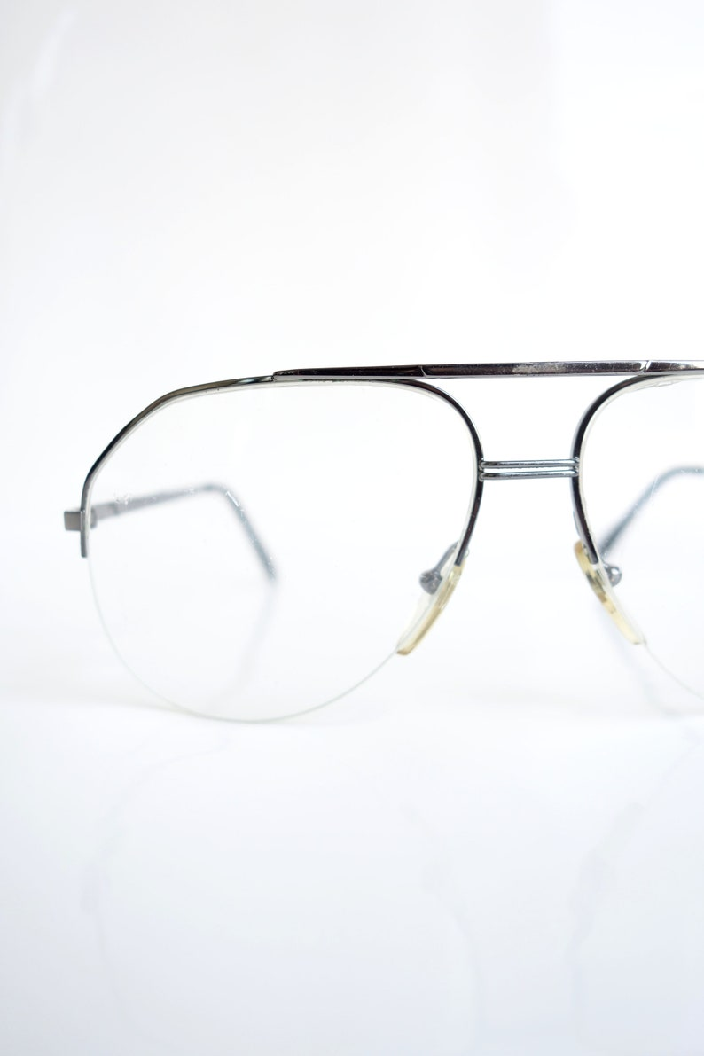 2fefab4bbf Vintage French Aviator Eyeglasses Mens Optical Frames Mens