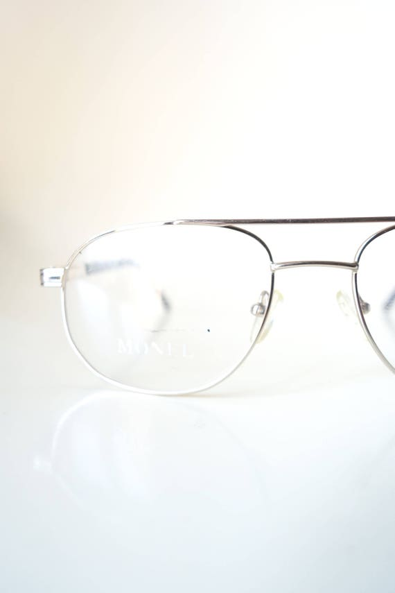 1980s Mens Gold Aviator Glasses - Mens Wire Rim Su