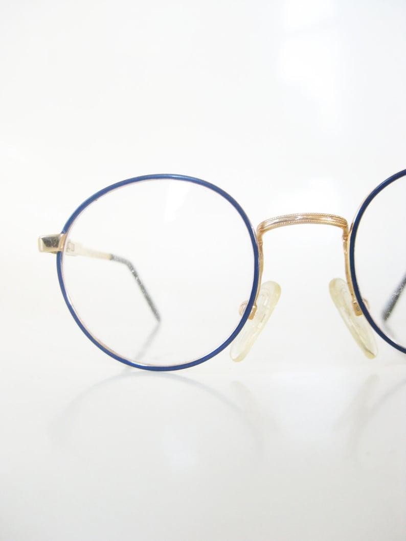 fc15864dcd94 Kids Round Glasses 1980s Round Eyeglasses Children's | Etsy