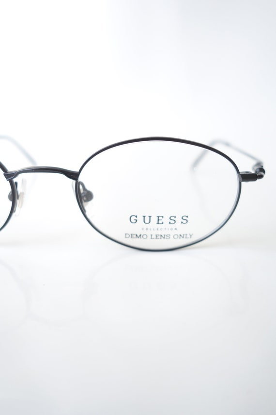 Guess Oval Wire Frame Eyeglasses – Womens Wire Rim