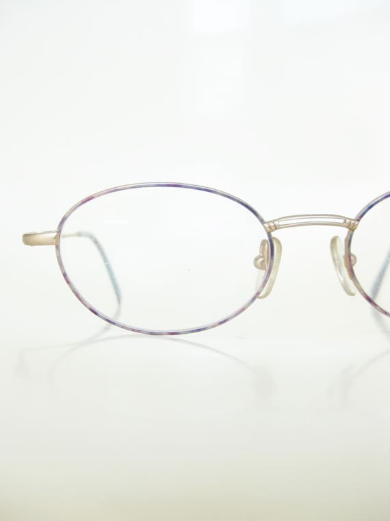 57c9ea2e71c7 Vintage Womens Reading Glasses Colorful Pink and Blue Pastel