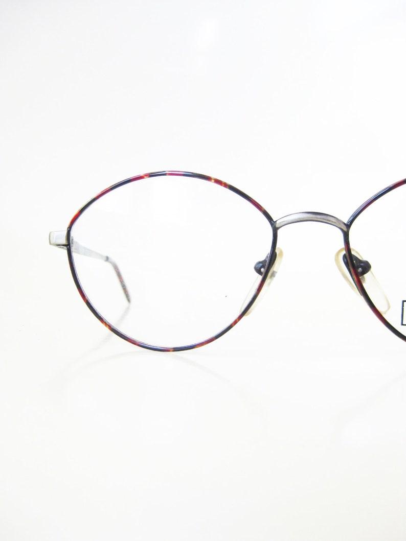 8e02ef59e 1980s Round Wire Rim Eyeglasses Vintage Deadstock Glasses | Etsy