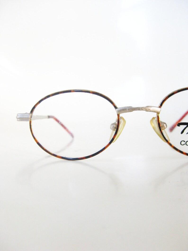 8bce049f66e7 Vintage Oval Glasses Oval Eyeglasses Vintage Kids Glasses