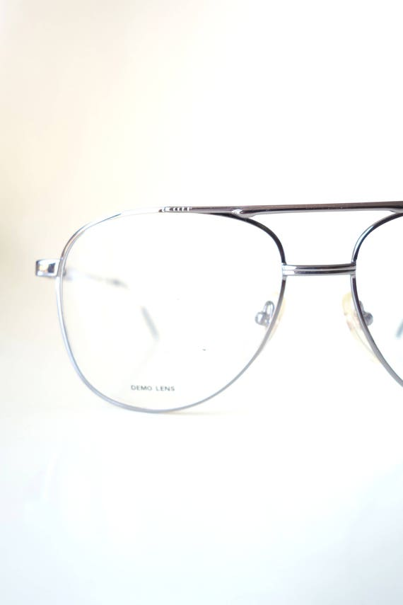 Aviator Glasses for Men - 1980s Oversized Aviator