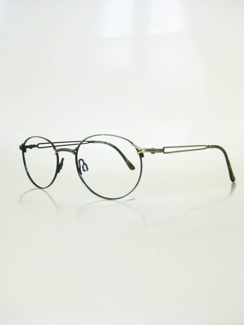 71266a216ddd 1980s Round Womens Eyeglasses Round Wire Frame Glasses