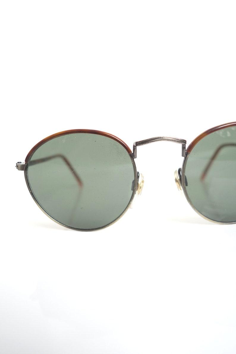 5c865cea5 1980s Round Wire Rim Sunglasses Womens Vintage Round 80s P3 | Etsy