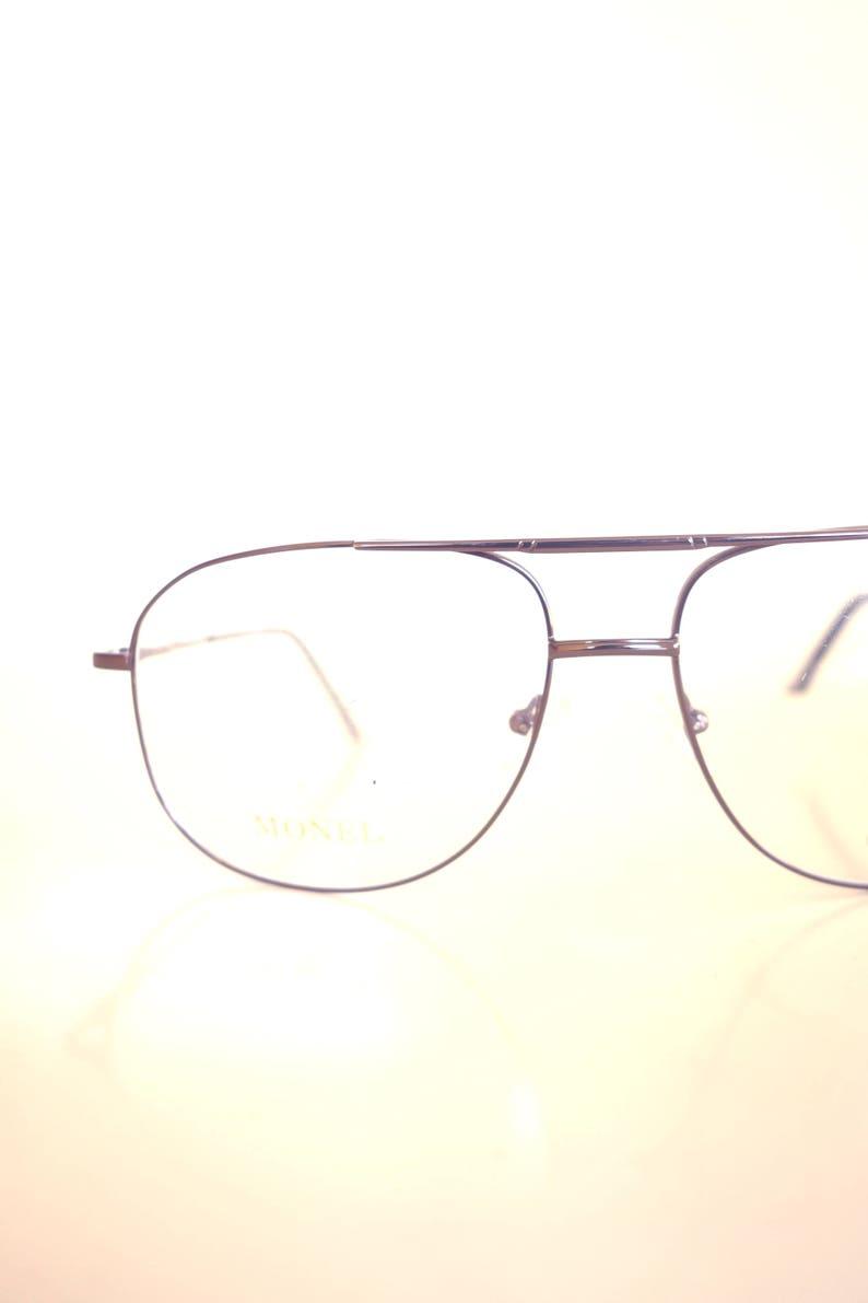 87157cf2825e Lunettes Anciene Homme Rose Gold Aviator Glasses Mens | Etsy