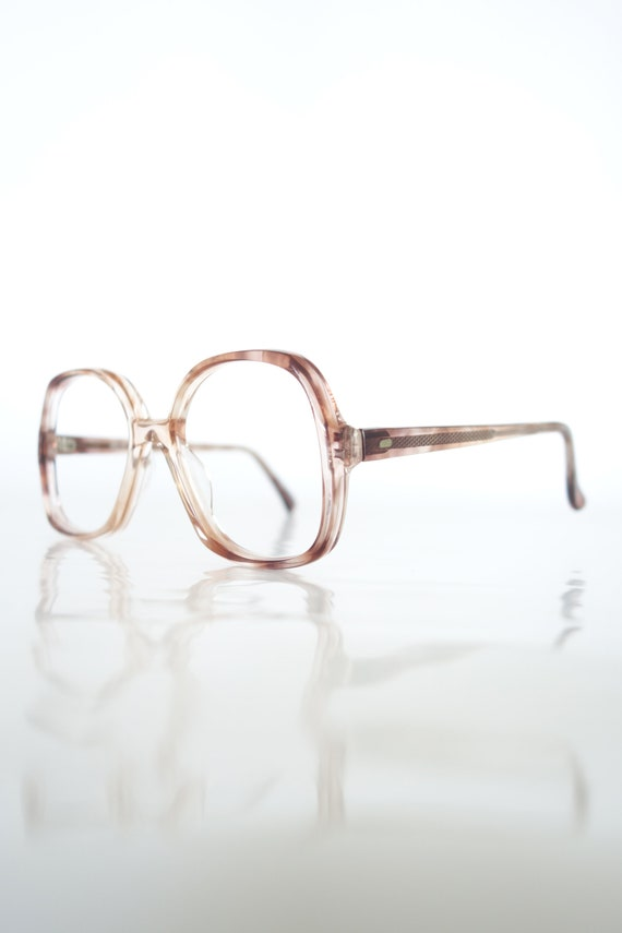 1960s Boxy Mod Eyeglasses – Womens Vintage Eyeglas