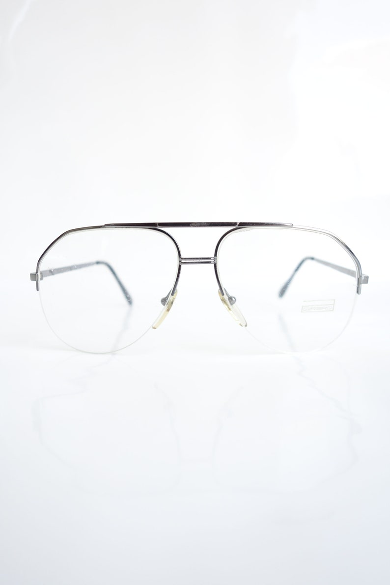 e017e03f54 Vintage French Aviator Eyeglasses Mens Optical Frames Mens