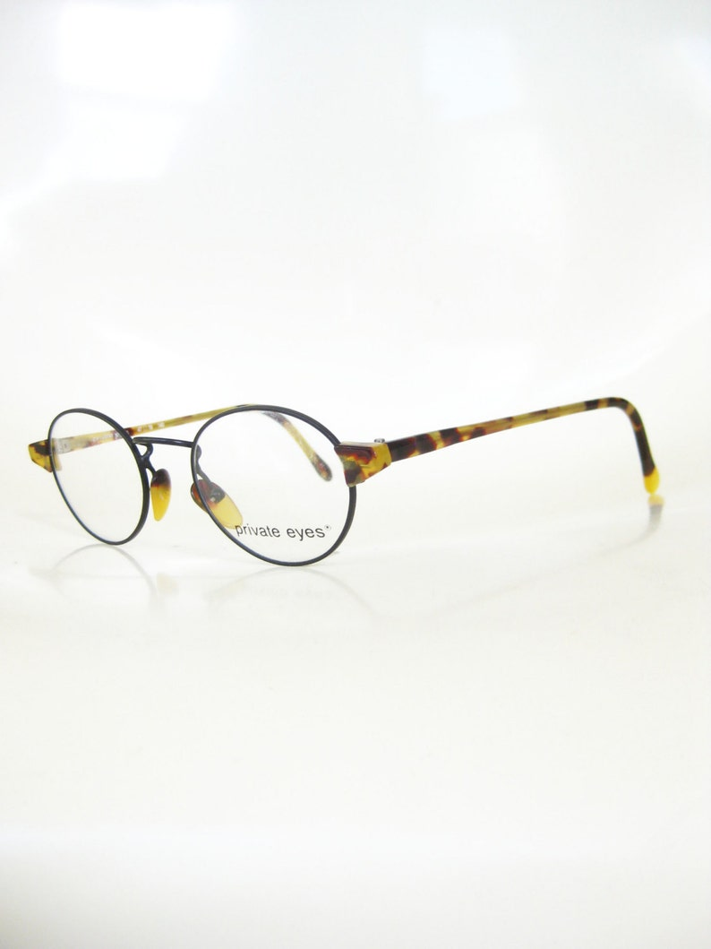 983adb31ba Black Wire Rim Glasses Womens Round Small Eyeglass Frames