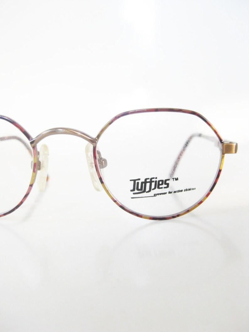 2aed98190f5 Vintage Round Kids Eyeglasses Children s Vintage 1980s