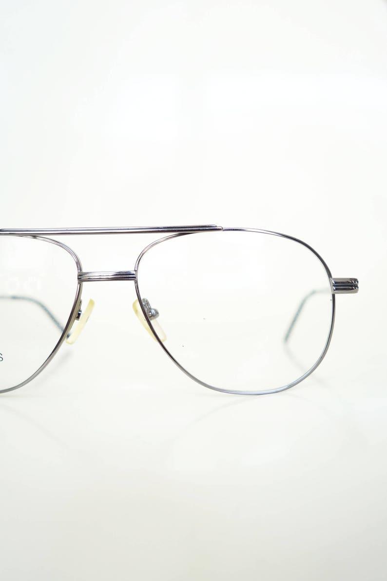 c895c37c3e9 Vintage Mens Deadstock Eyeglasses Mens Aviator Frames Wire