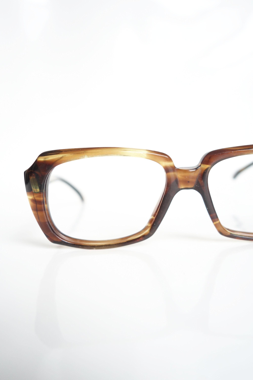 430d1942f855 1960s Mens American Optical Glasses Mens Amber Tortoiseshell | Etsy