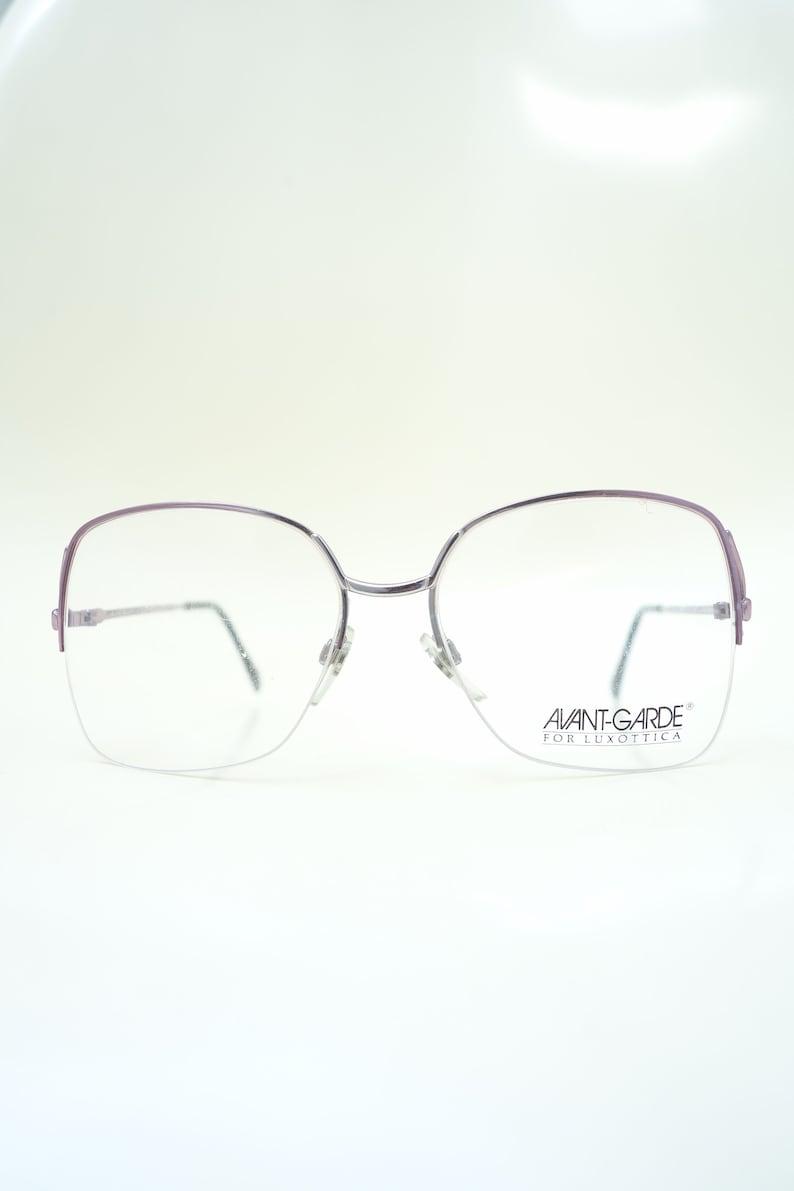 396c63f7873 1970s Avant Garde Wire Rim Frames Womens Oversized Glasses
