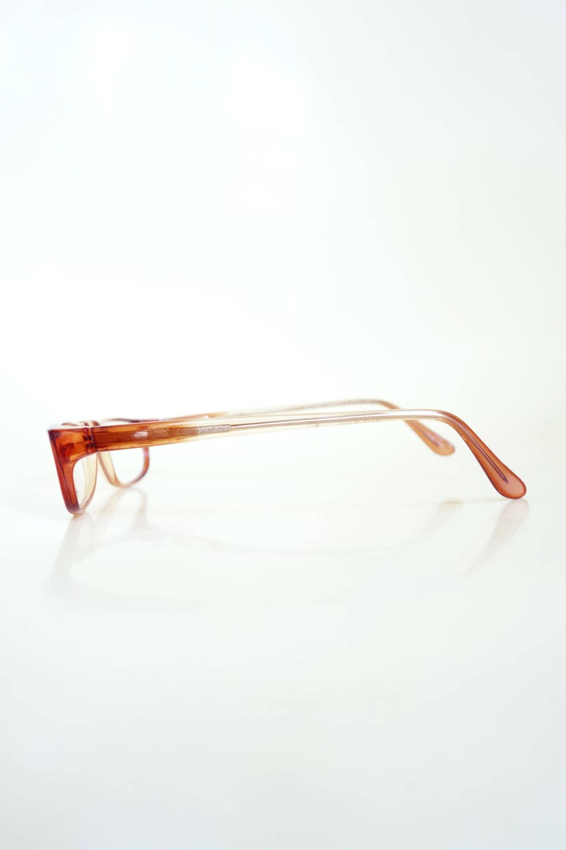 5e3c13ac12 Half Moon Womens Reading Glasses Light Brown and Caramel