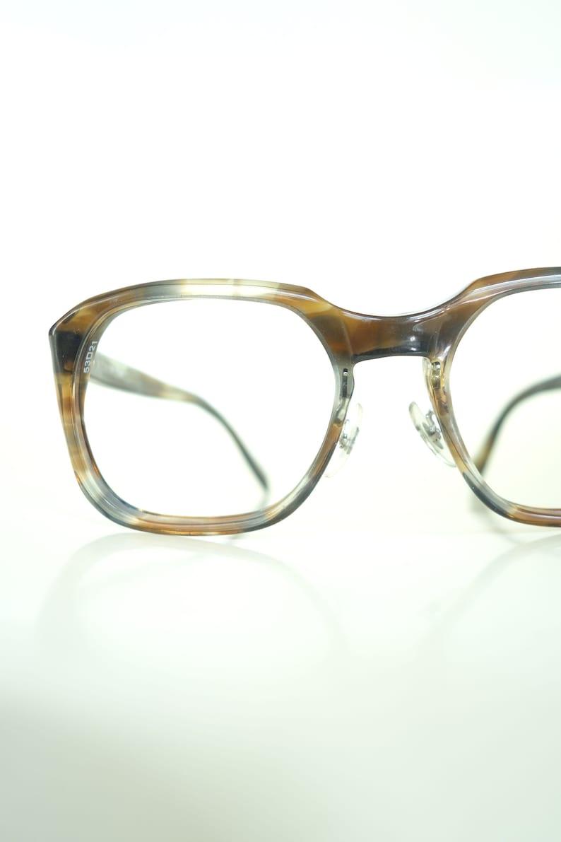 efaba98e019f 1960s Mens Glasses Mens Horn Rim Glasses Mens Retro NOS | Etsy