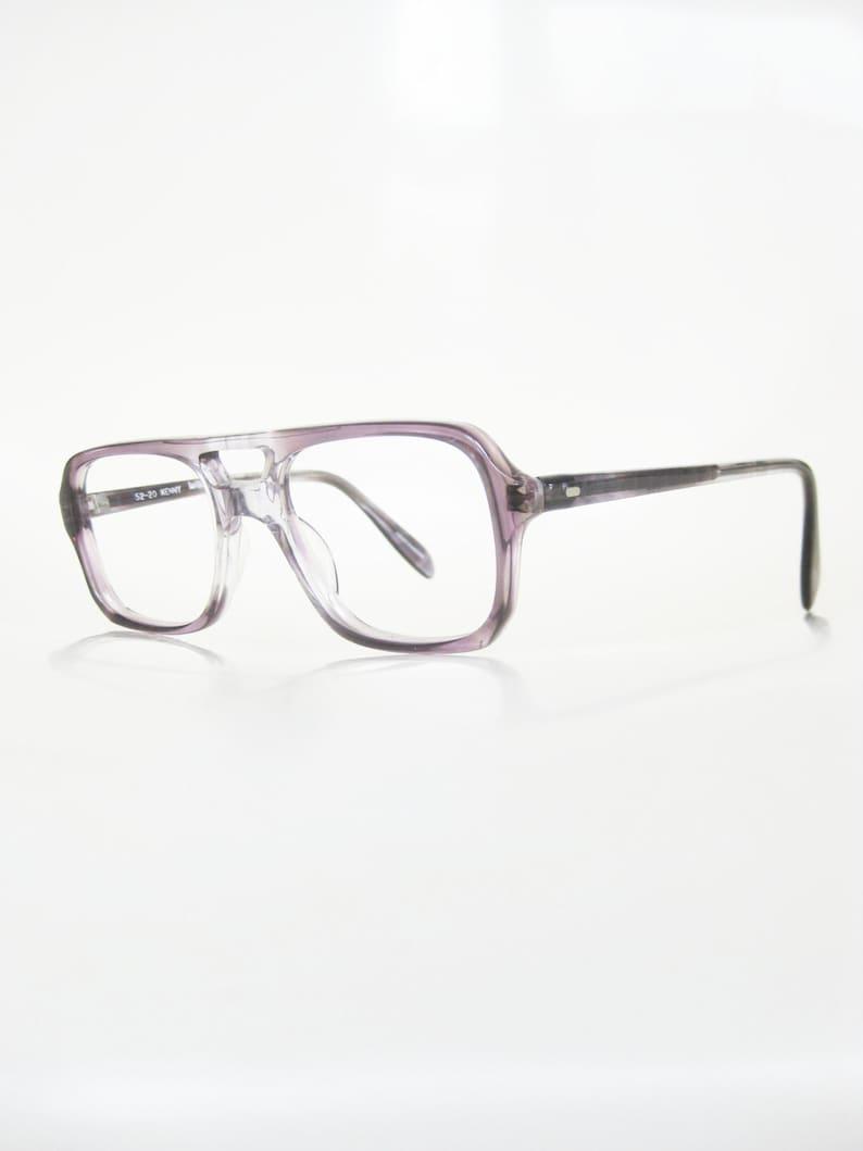16cb1d89b70b6 Mens Vintage Aviator Eyeglasses Clear Frame Glasses Mens