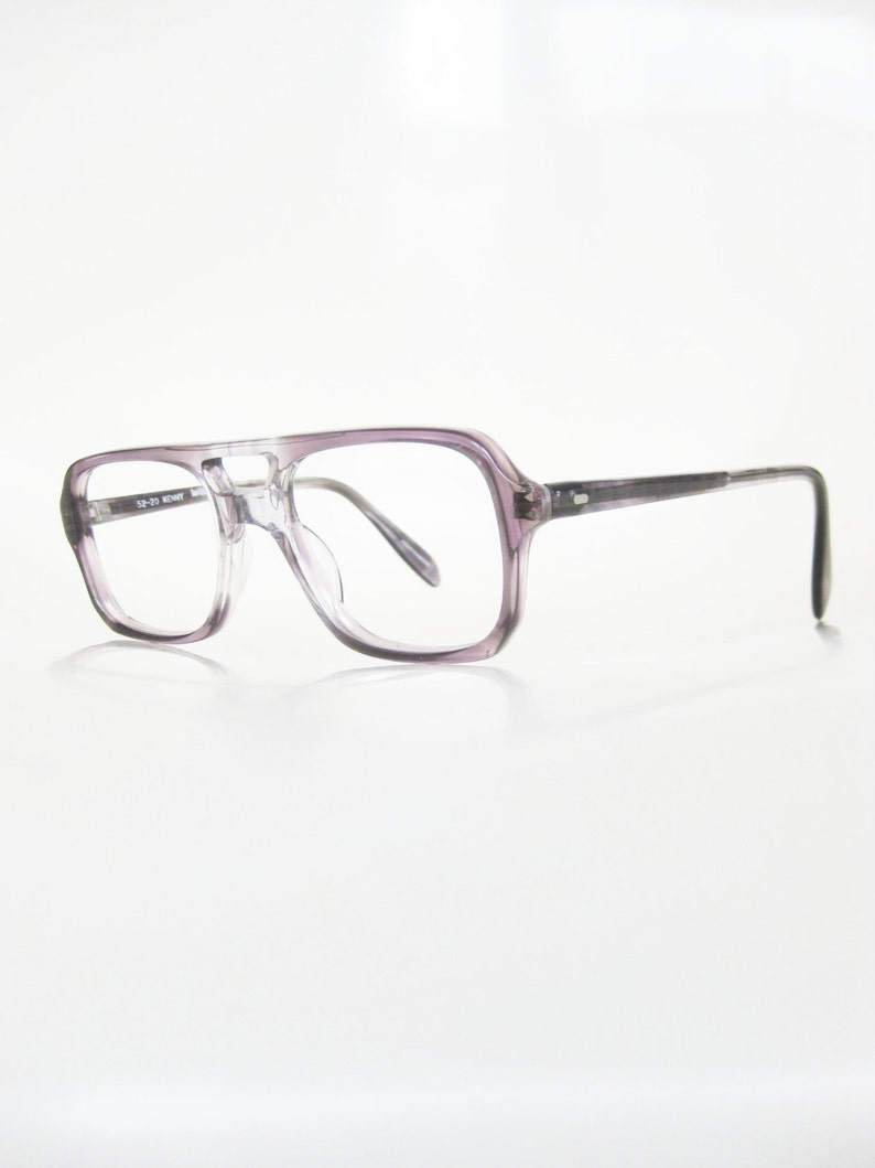 c23ae3dda38 Mens Vintage Aviator Eyeglasses Clear Frame Glasses Mens