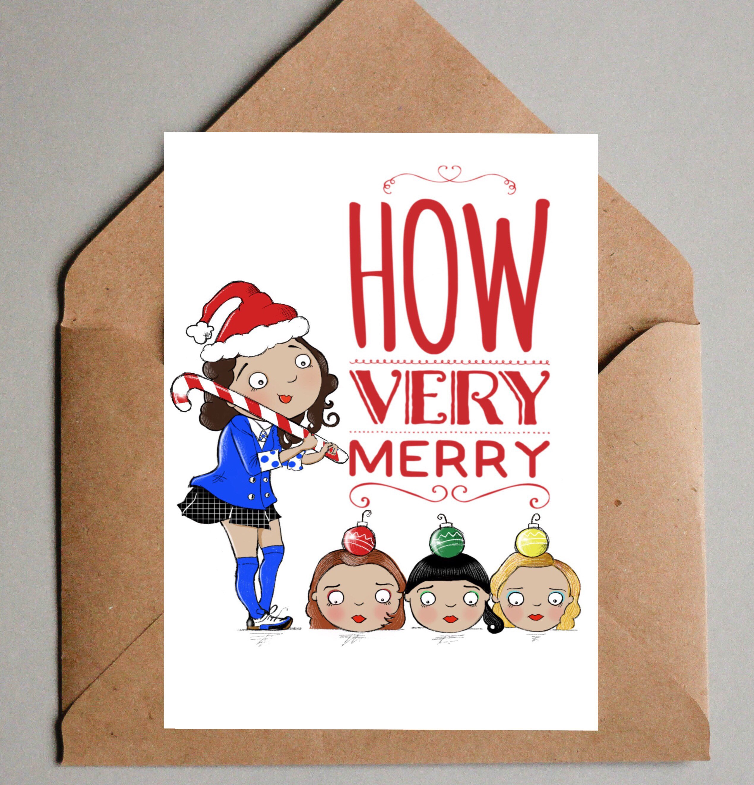 Heathers The Musical Christmas Card Musical Theatre Etsy
