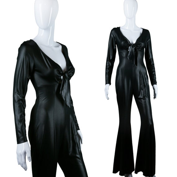 Frederick's of Hollywood Jumpsuit - 70s Cat Suit -