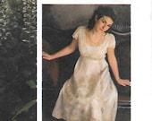 Titanic Style Dress Sewing Pattern Sizes 2 to 14 Graduation Wedding Dress Downton Abbey Costume
