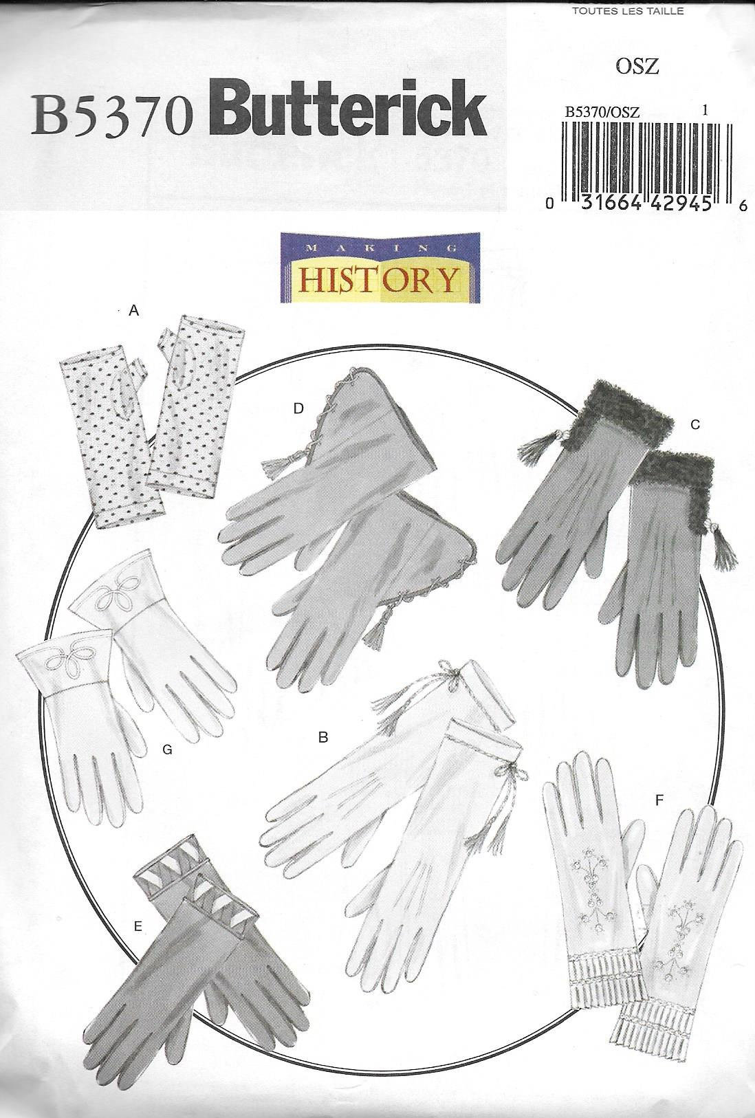 Glove Sewing Pattern Magnificent Decorating Ideas