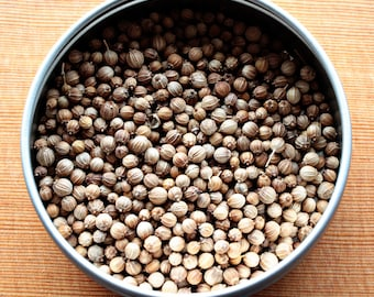 Cilantro Herb Seeds - Slow Bolt and Leisure Splits, Cilantro Seeds, Organic Herb Seeds, Organic Cilantro Seeds, Herb Garden Seeds