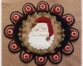 Dear Santa Christmas Penny Rug Table Wall Mat DIGITAL PATTERN