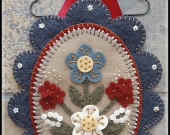 Sweet Land Of Liberty~ Patriotic Americana Mini Mat pattern MAILED PATTERN